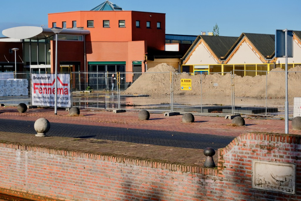 Heien bij renovatie De Helling Oude Pekela
