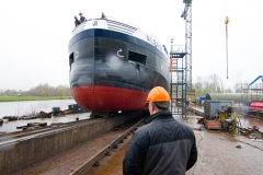 nieuwbouw tankschip Alexia