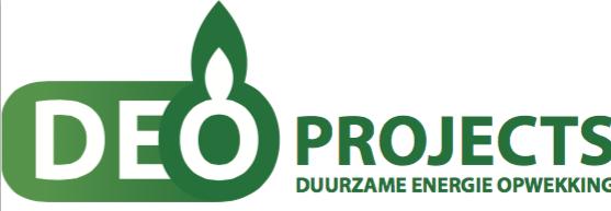 Het nieuwe logo, helemaal passend bij de nieuwe huisstijl van DEO Projects.
