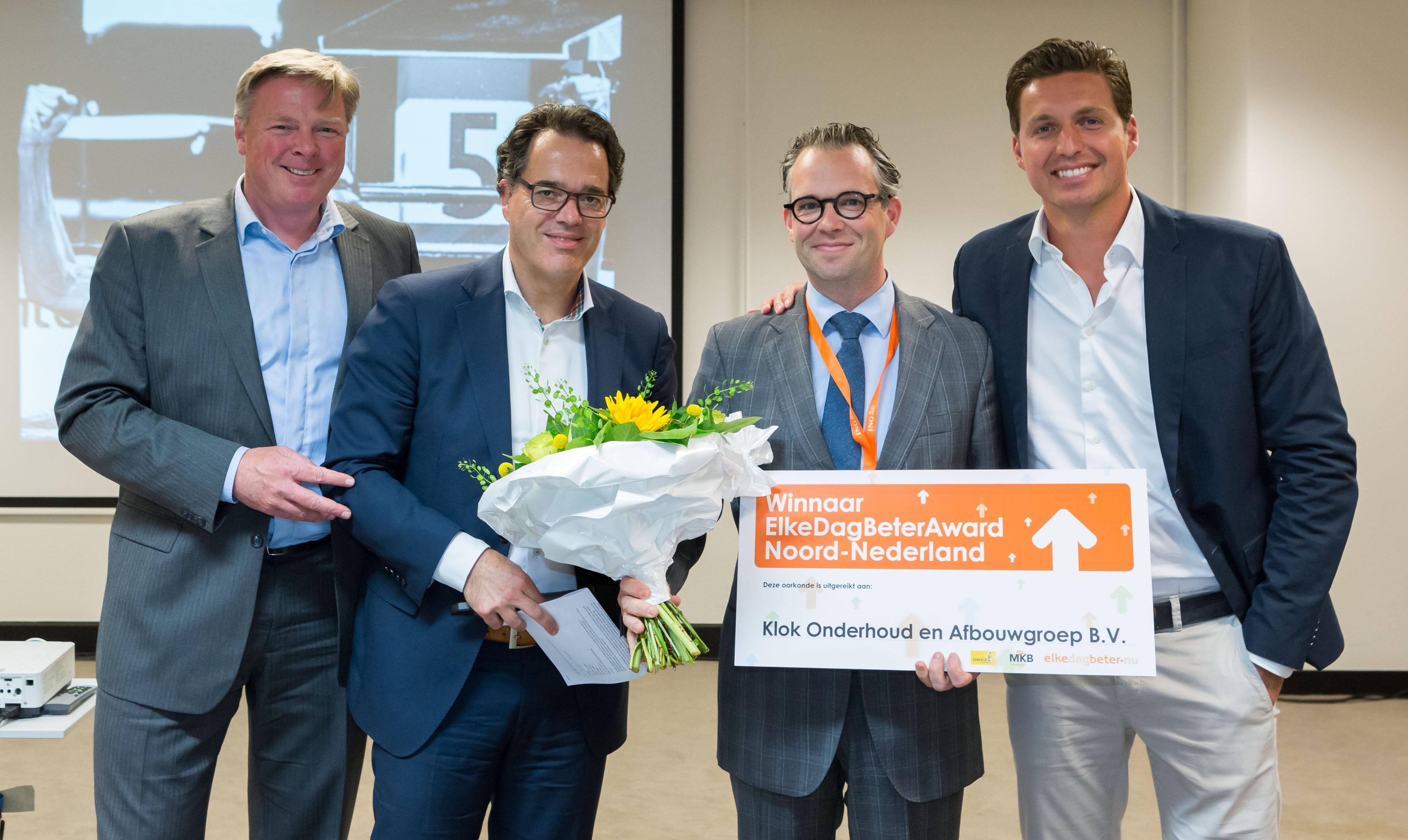 Klok Onderhoud- & Afbouwgroep BV  in Assen is de Noordelijke kandidaat voor de verkiezing van Vitaalste Bedrijf van Nederland. Ten Have Tekst schreef hierover een persbericht en verzond deze naar vele tientallen media en journalisten in Noord-Nederland en voor de bouwsector.
