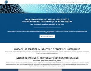 Ten Have Tekst schreef nieuwe SEO webteksten voor industrieel automatiseringsspecialist HN Automatisering in Onstwedde.