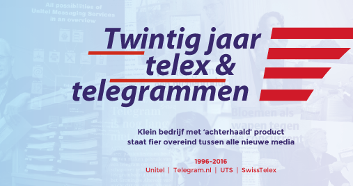 jubileumboek telex en telegram