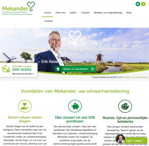 Ten Have Tekst schreef de SEO webteksten van de nieuwe website van uitvaartvereniging Mekander
